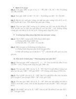Bài tập nâng cao Hình học 7 chương II và III