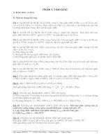 Một số đề thi Máy tính Bỏ túi - Phần Hình học