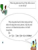 Bài 61: Phản ứng nhiệt hạch