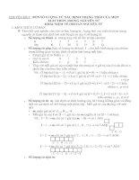 Chuyên đề 4 : 4 số lượng tử