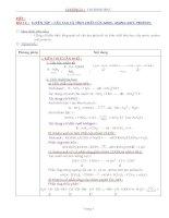 Nội dung bài giảng Hóa 12NC - Bài 14 (GV soạn thêm phần làm việc với HS)