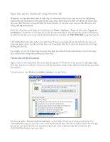 Ngăn việc tạo file Thumbs.db trong Windows XP
