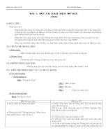 Giáo án Đại số 10 chương V (nâng cao)