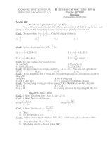 Kiểm tra Toán 11 (đề 002)