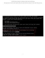 Sửa lỗi thiếu file System và Software không vào được Windows