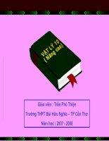Bài 29: Quá trình đẳng nhiệt. Định luật Bôi-lơ - Ma-ri-ốt