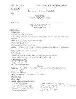 GIÁO ÁN LOP 3 TUẦN 17 CUC CHUAN