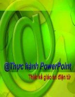 Hướng dẫn sử dụng Powerpoint - Thiết kế bài giảng điện tử 10