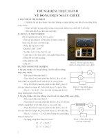 Hướng dẫn sử dụng thiết bị Vật Lý 12