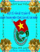 Một số vấn đề về Đoàn TNCS Hồ Chí Minh