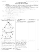 Giáo án hình học 12 chương I (Ban cơ bản)