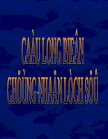Cầu Long Biên - Chứng nhân lịch sử