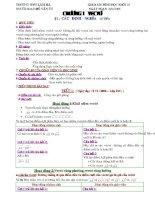 Giáo án Hình học khối 10 đầy đủ(hay cực)
