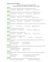 500 câu hỏi trắc nghiệm khách quan sinh 9 (có đáp án)