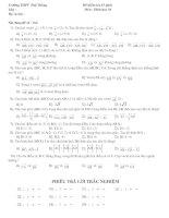 kiểm tra 15 phút hình học cơ bản(áp dung)