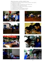 unit 4 volunteer work + pics