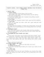 Giáo án sinh học 11 NC từ tiết 21-48