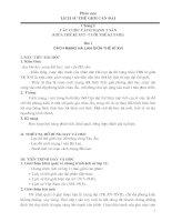 Giáo án lịch sử  11 (Nâng cao)