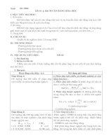 Cân bằng hóa học tiết 1
