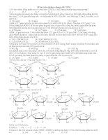 28 bài trắc nghiệm chương I,II 12NC (mới)