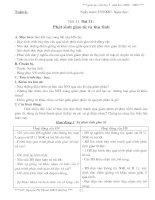 GIÁO AN SINH 9 08-09 CHI TIÊT 2 COT- NT