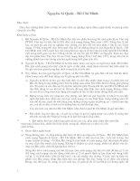 Định hướng giải đề ôn luyện Văn 12