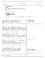 Giáo án văn 6 HK II