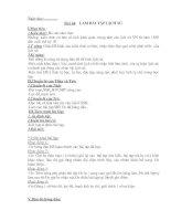 Giáo án lớp 6 (Từ tiết 44 đến 50)