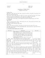 Giáo án HH 9 Chương VI