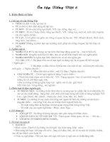 Ôn tập Ngữ văn 6 (Phần Tiếng Việt)