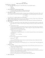 Ôn tập Vật lý 11 chương 1 (đầy đũ - hay)