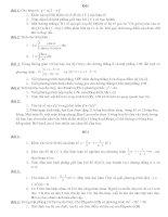 Đề Thi Thử TỐT NGHIỆP 12