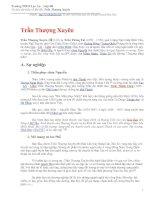Tìm hiểu về Đô Đốc Trần Thượng Xuyên