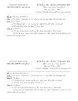Đề thi CDGD 10 HKI ( Tự luận)