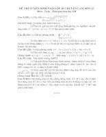 đề thi - d.a chuyên Lam Son - đề 6