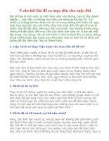 5 Câu Hỏi Đề Ra Mục Tiêu Cho Cuộc Đời