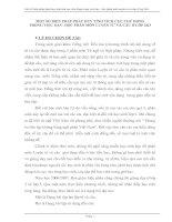 MỘT SỐ BIỆN PHÁP PHÁT HUY TÍNH TÍCH CỰC CHỦ ĐỘNG