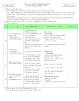 Giáo án Hình học 9 học kỳ III