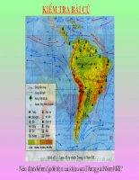 Địa 7-Tiết 47-Thien nhien Trung và Nam Mi