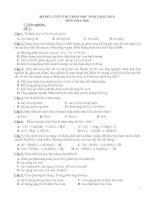 Bộ đề thi HSG -Hóa THCS