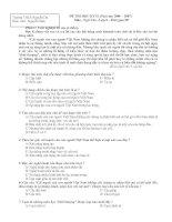 16 bộ đề - đáp án Thi HK II, Văn 9