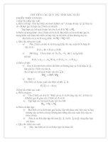 Chuyên đề: Các QT tính XS