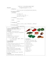 Lesson Plan 6(Unit10: Staying healthy)