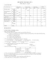 Noel 2008-Đề thi Địa lý HK1 lớp 8 kèm đáp án (Đề 15)