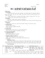 Bài 11: Sự hút nước và muối khoáng của rễ