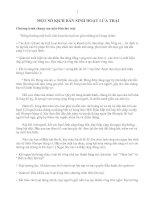 MỘT SỐ KỊCH BẢN SINH HOẠT LỬA TRẠI
