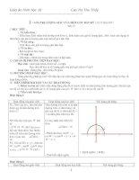 Giáo án Hình học 10 chương II (nâng cao)