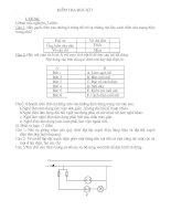 đề kiểm tra học kì 1 môn công nghệ lớp 9