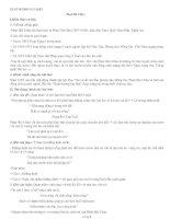 Đề cương ôn tập Ngữ văn 11