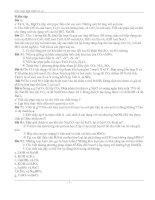 Bài tập tự luận các loại hợp chất vô cơ